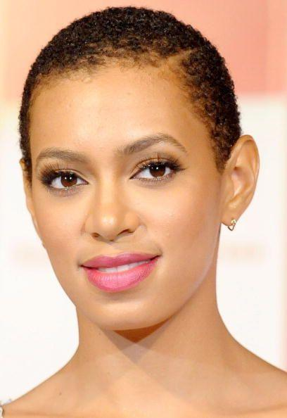 Of shaving her head back in 2009, Solange Knowles siad, 'I just wanted to be free from the bondage that black women sometimes put on themselves with their hair'
