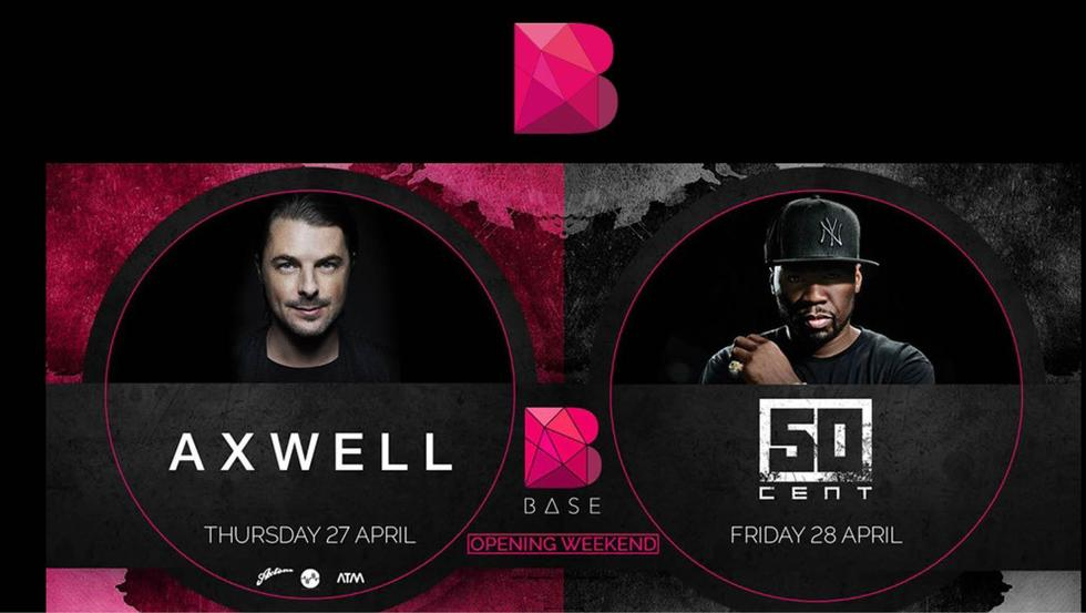 Dubai's Newest Club, Base, Set For A HUGE Opening This Weekend