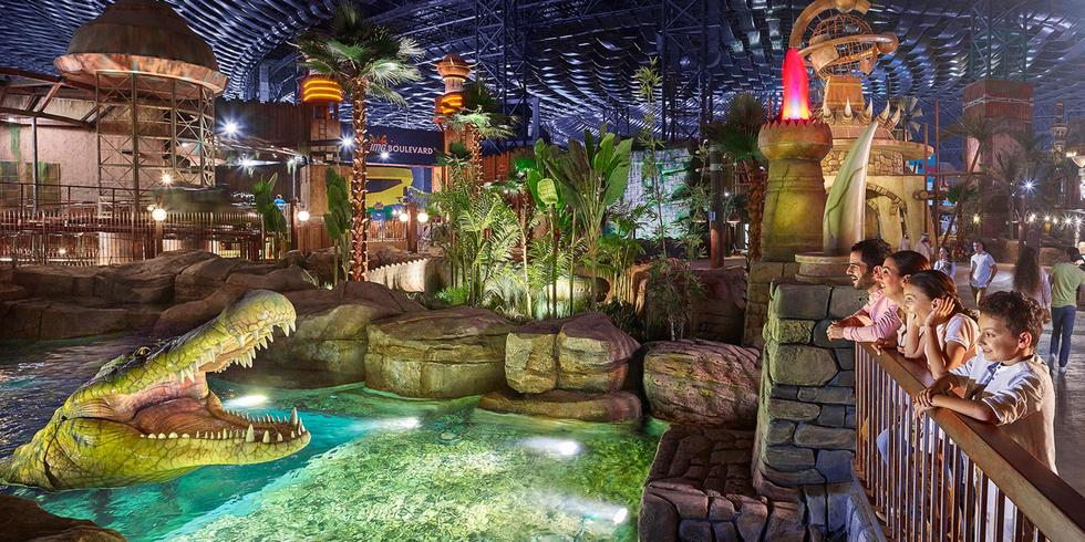 If You Want To Go To The Largest Indoor Theme Park In Dubai, Now Is The time