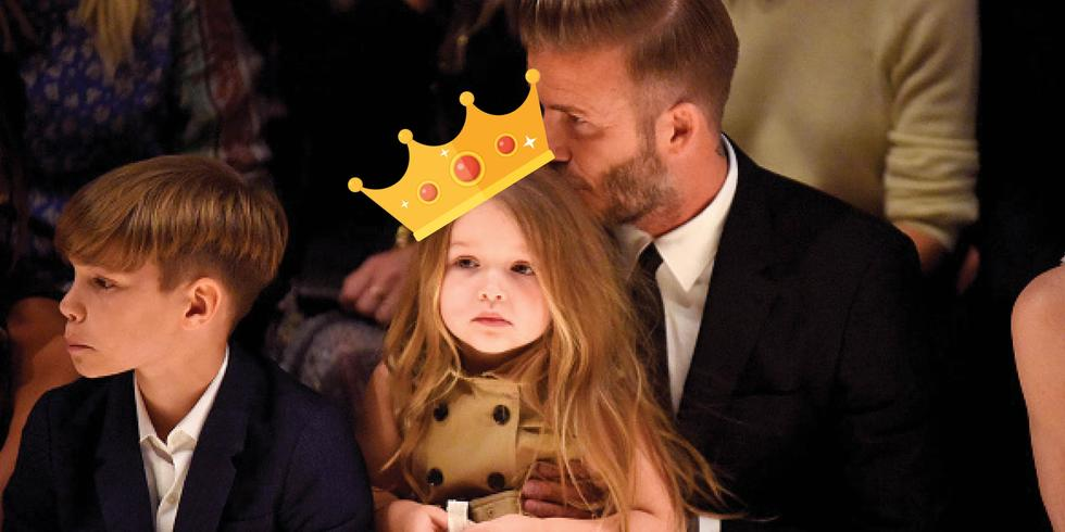 Harper Beckham Is Living Out Our Princess Dream With A Birthday Party At Buckingham Palace