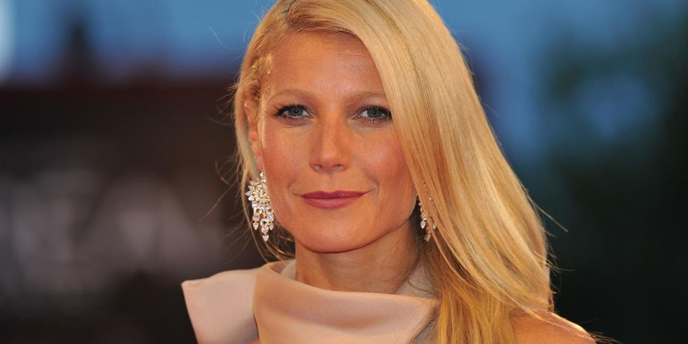 Big night ahead? The Goop founder always reaches for her favourite pieces in rose petal pink