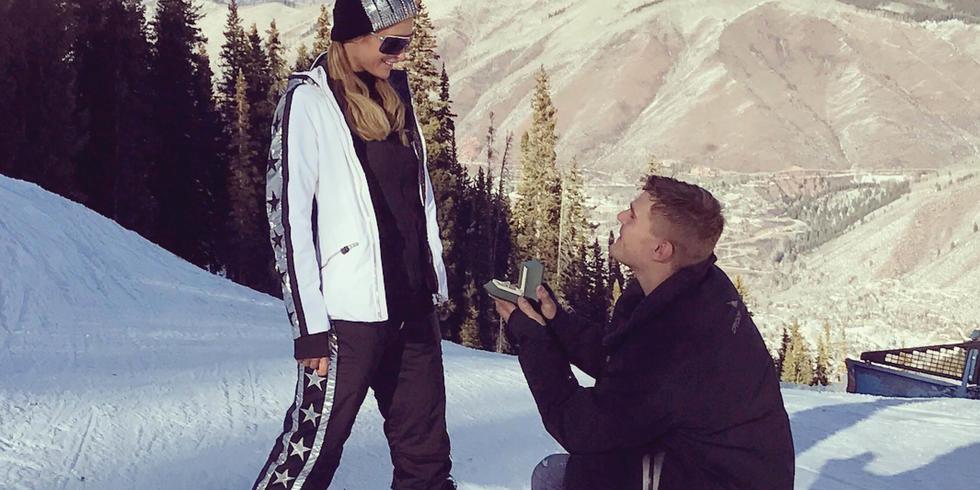ICYMI: Paris Hilton's Engagement Ring Is HUGE