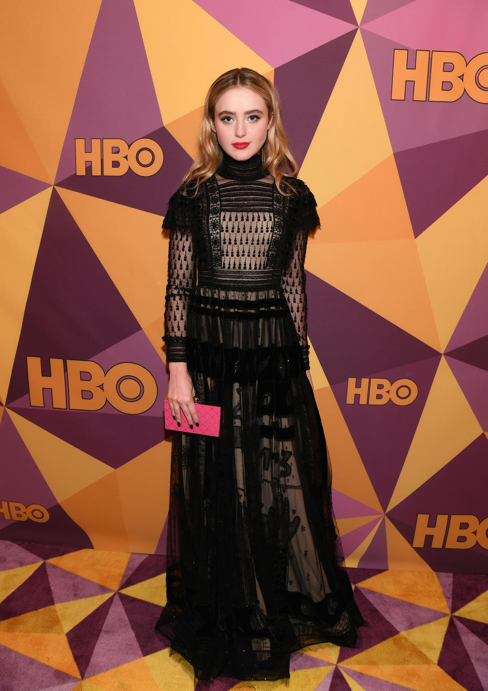 'Lady Bird' star Kathryn Newton in Valentino