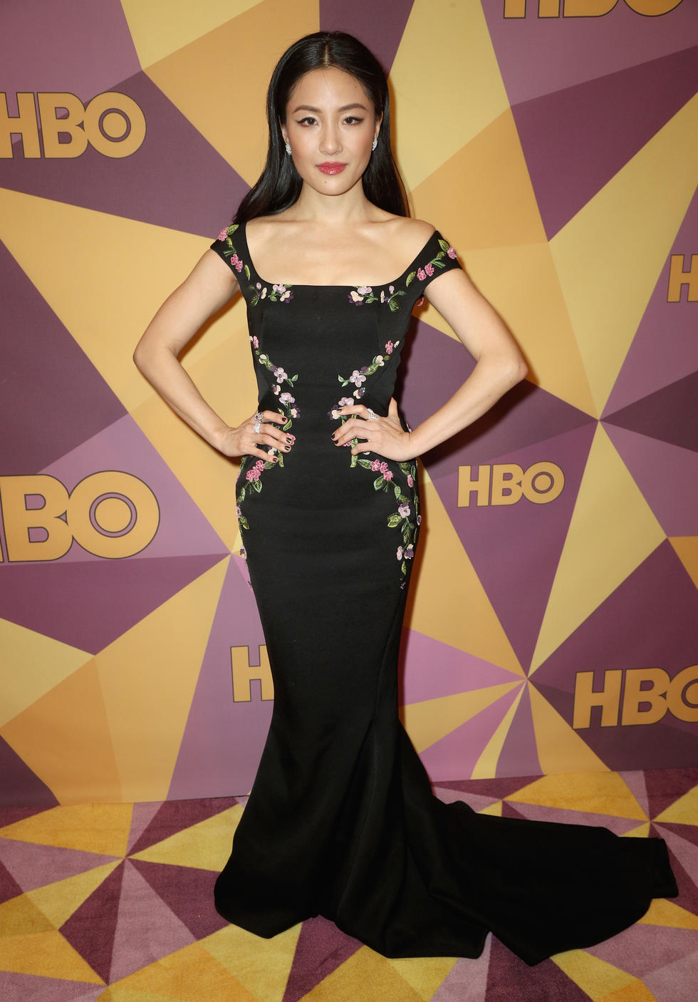 'Fresh Off The Boat' star Constance Wu in Zac Posen