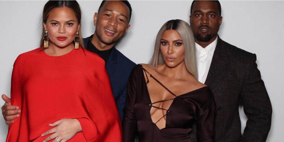Kim, Kanye, Chrissy, John, And More Come Out To Celebrate Ellen DeGeneres