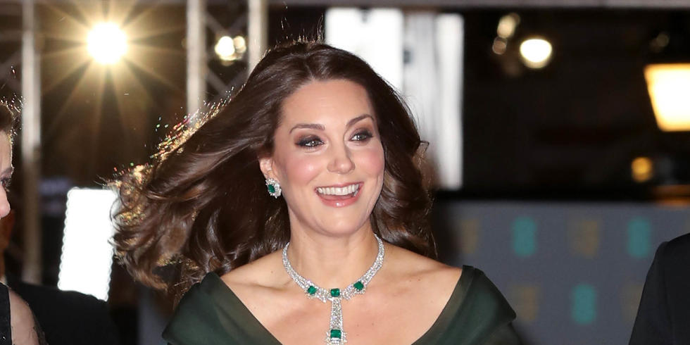 Here's Why Kate Middleton Didn't Wear All-Black To The BAFTAs