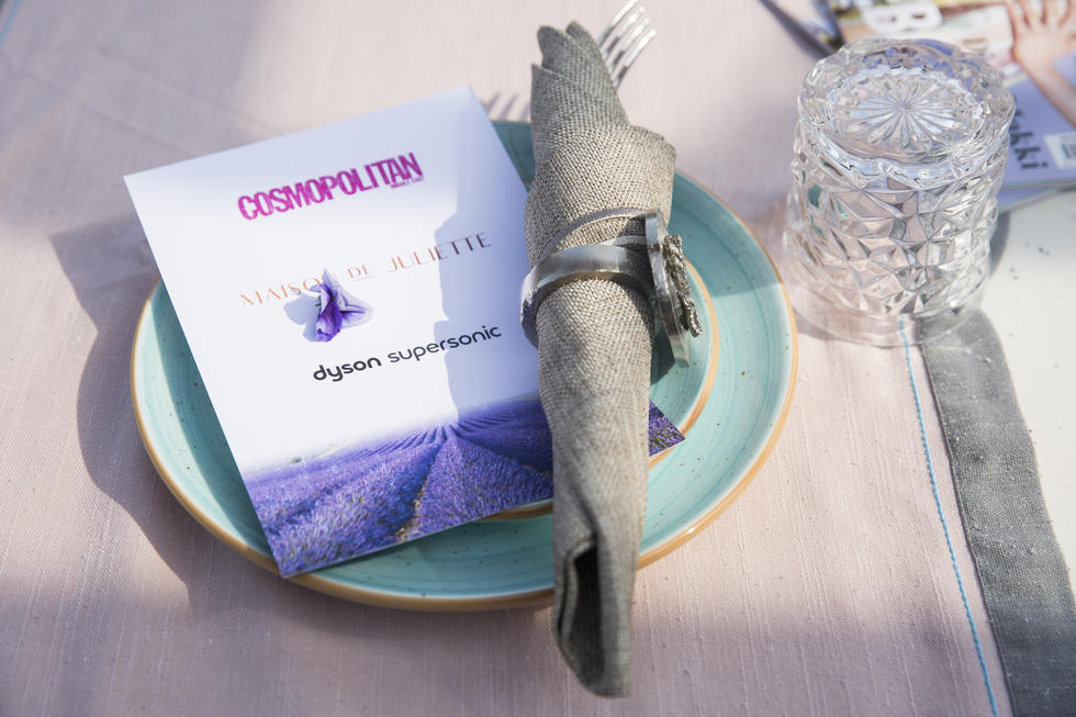 Loving the menu and the table setting