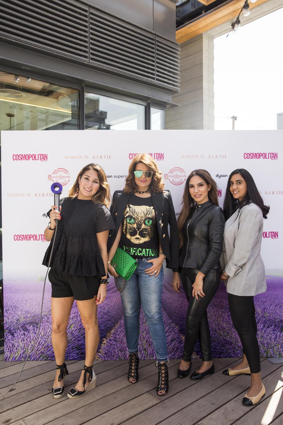 Joelle Barakat, Sara Abdallah, Samar Bawab and Heba Atallah