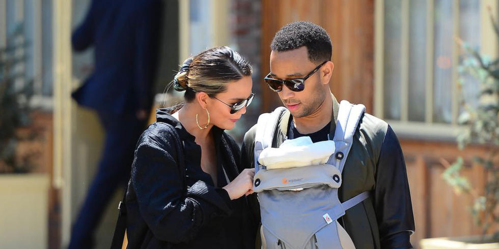 Chrissy Teigen Shares First Photo Of Miles And Luna Together And Our Hearts Have Melted