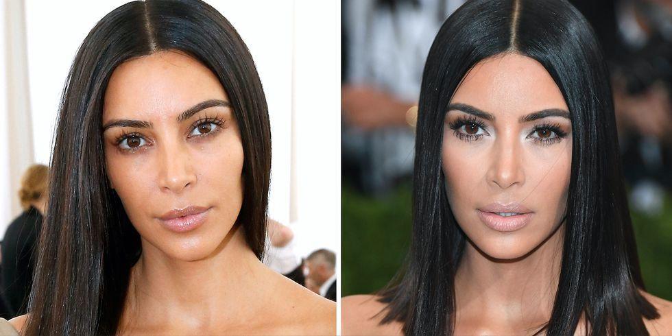 #Kardashians, #Celebs bare faced, #no make up