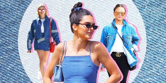 6 Ways To Look As Good As Kendall Jenner In Double Denim