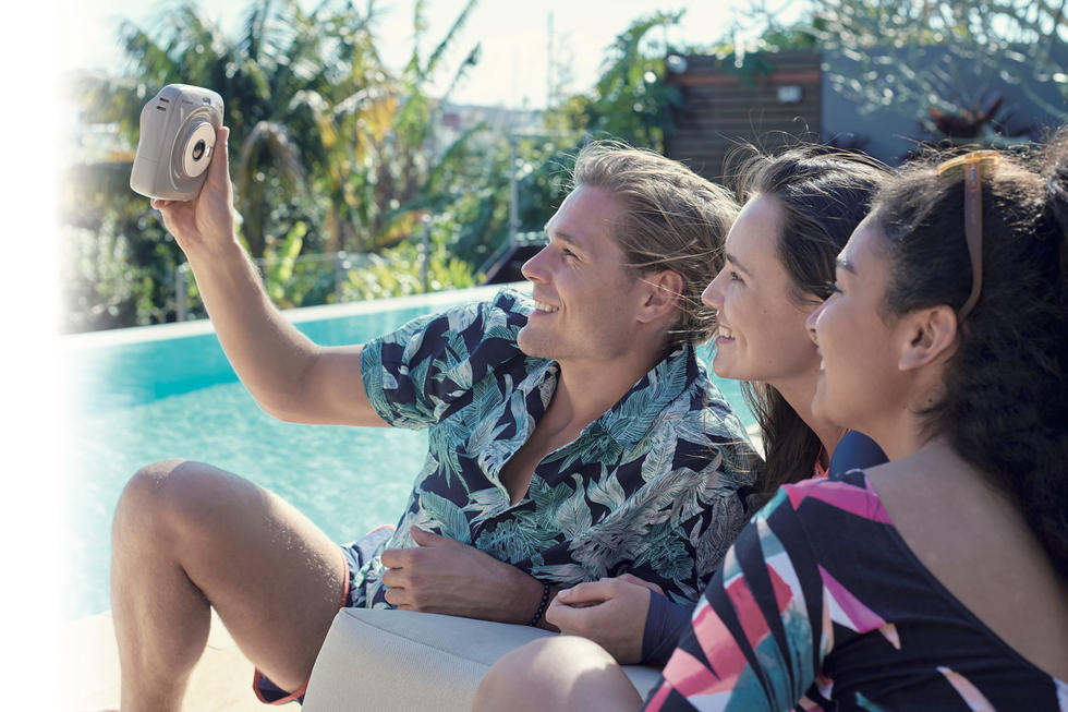WIN! An instax SQ20 For You And Your Bestie – Your Selfies Just Got Better!