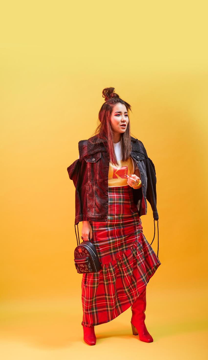 Tartan Skirt, 4 Ways, Style Guide, Festive fashion, Fashion, Trends