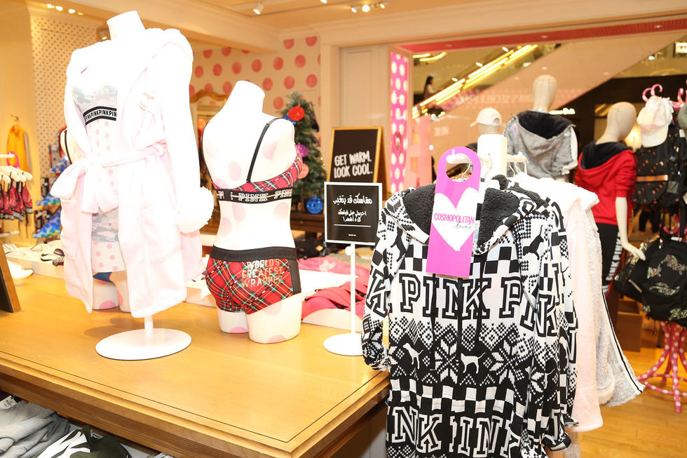 All the fab VS PINK fashions!