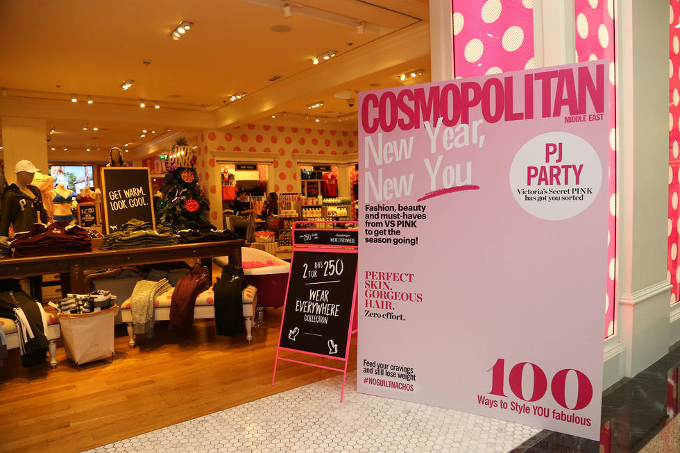 P-A-R-T-A-Y! That's what we were shouting at the Victoria's Secret PINK Christmas Party that took place over the weekend. We were jamming to the in-house music at the gorgeous VS PINK store while we got to get our hands on the latest festive deals! It was like everything we could wish for and more... Not to mention, our fave glam squad, Glitterbox joined us to give our guests the glitter makeover they've always desired. All who attended the party did not leave without a smile plastered on their face from ear to ear and some of the latest VS PINK deals.