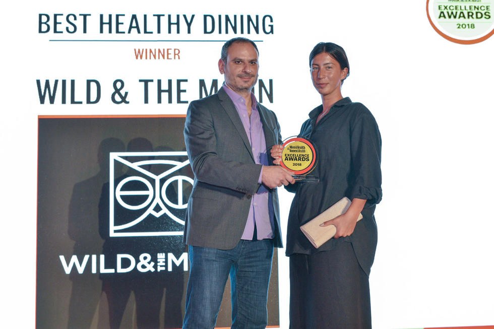 BEST IN HEALTHY DINING: Wild & The Moon. The award given by