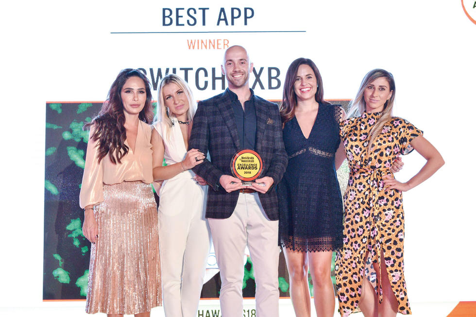 BEST APP: Switch DXB. The award given by Publishing Director
