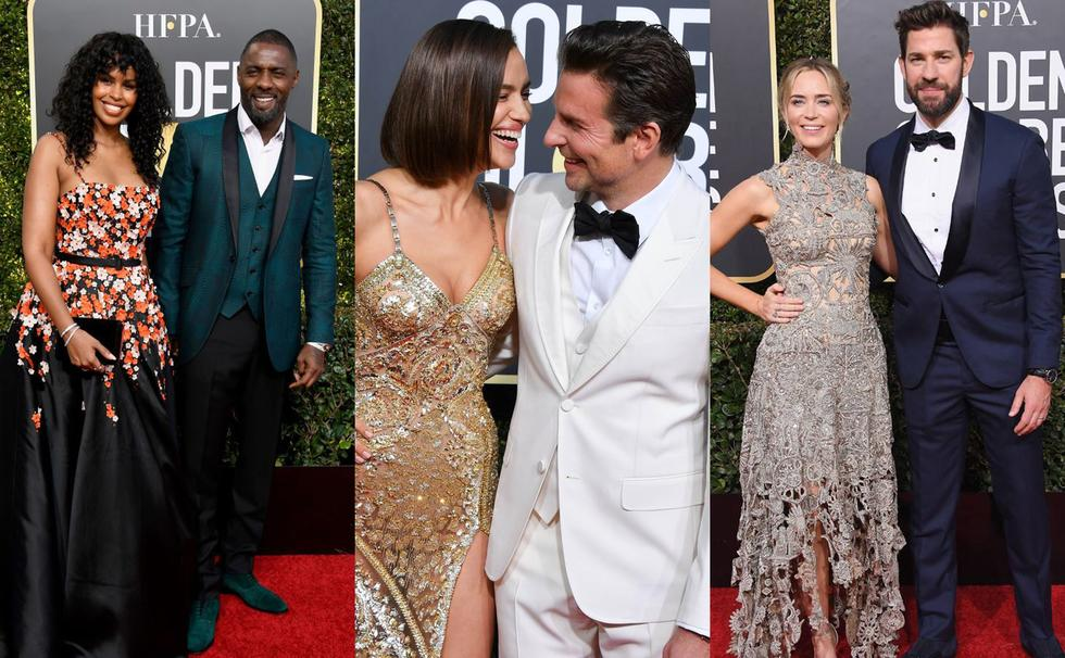 Aside awards, disses, flu shoots, and water, the Golden Globes was also filled with romance! Here are some of the cutest pairs who left us swooning!