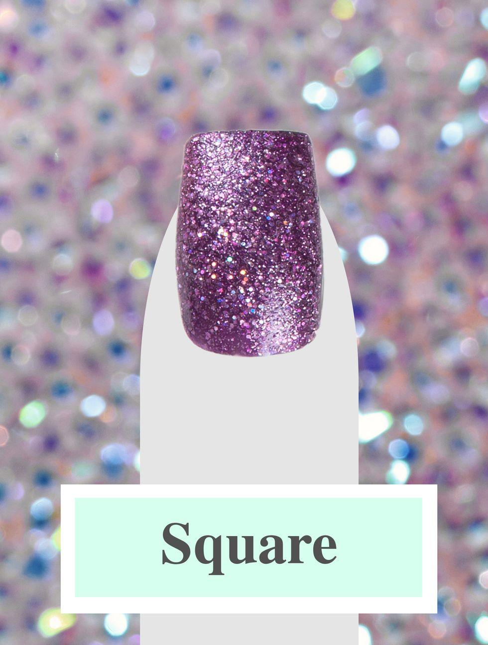 Nails, Nail Shapes, 2019, Stiletto, Oval, Coffin Nails, Square, Nail Trends