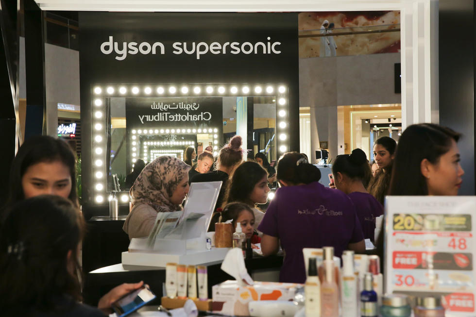 Life is too short to have boring hair...right guys? The Dyson pop up was the cherry on top at the Modest Fashion & Beauty Weekend at Yas Mall.  Until next year...