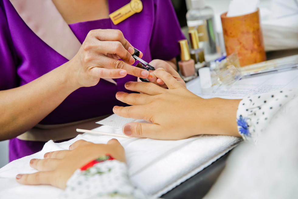 From massages to manicures, Tips & Toes offered a mini pampering sesh , because we all know how much of a workout shopping is...