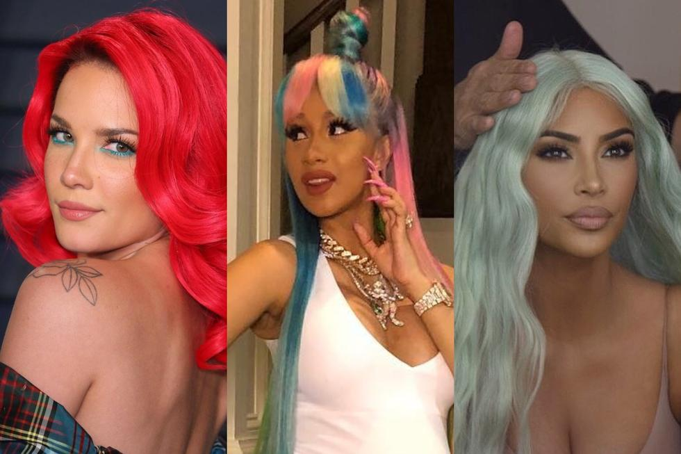Rainbow Hair Is The Trend Everyone Is Joining In On