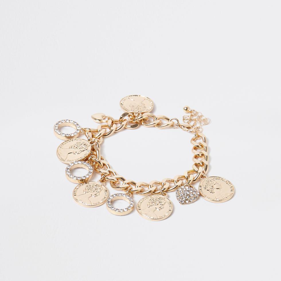 Charm bracelet, Dhs79, River Island
