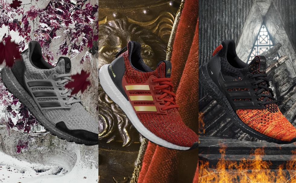 So, There's An Adidas x Game Of Thrones Sneaker Collection Available In Dubai Nbd