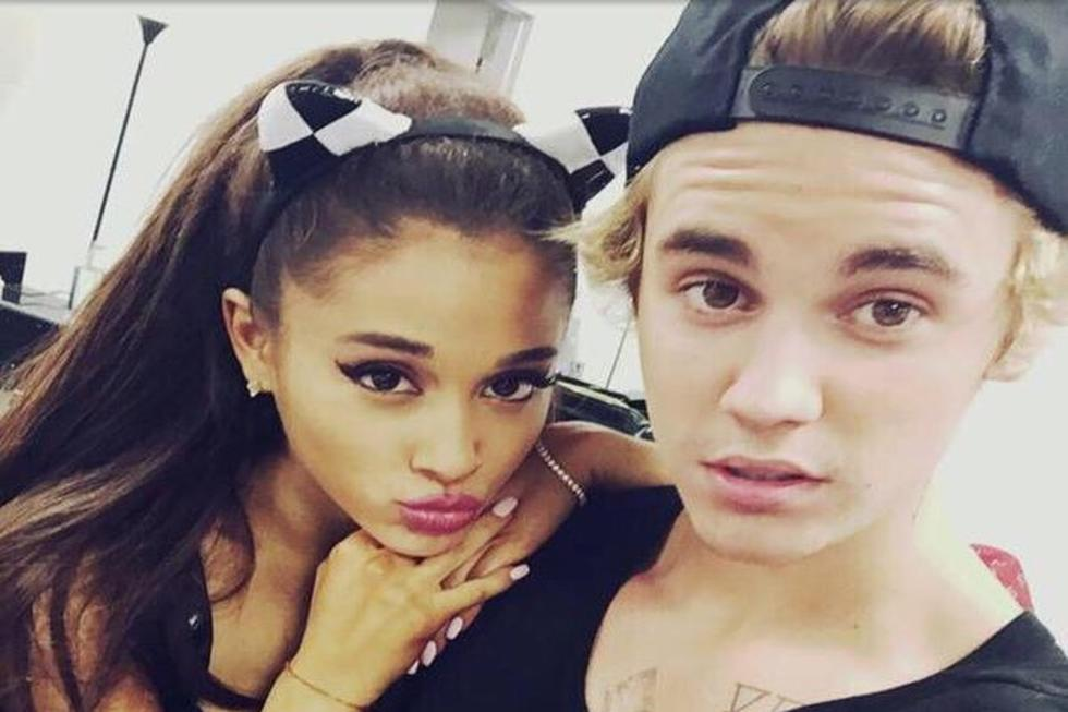OMG There's Evidence Justin Bieber And Ariana Grande Are Making Music Together