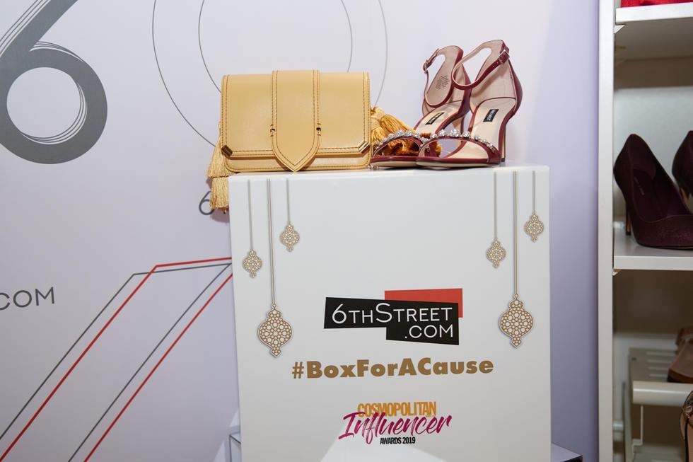 #CosmoInfluencerAwards, 2019, Highlights, 6thstreet, 6thstreet.com, Dubai, Influencer, Cosmo Influencer Awards, Ramadan, Emirates Red Crescent Society, Boxforacause