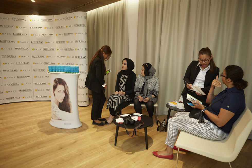 Bioderma had pop up station where they offered complimentary skin analysis and instructed guests on appropriate skincare tips, according to their individual skin types.