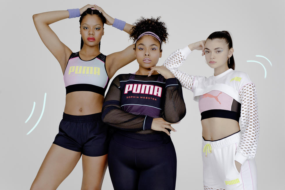 Puma Teamed Up With Sophia Webster To Make Our Girly Girl Dreams Come True