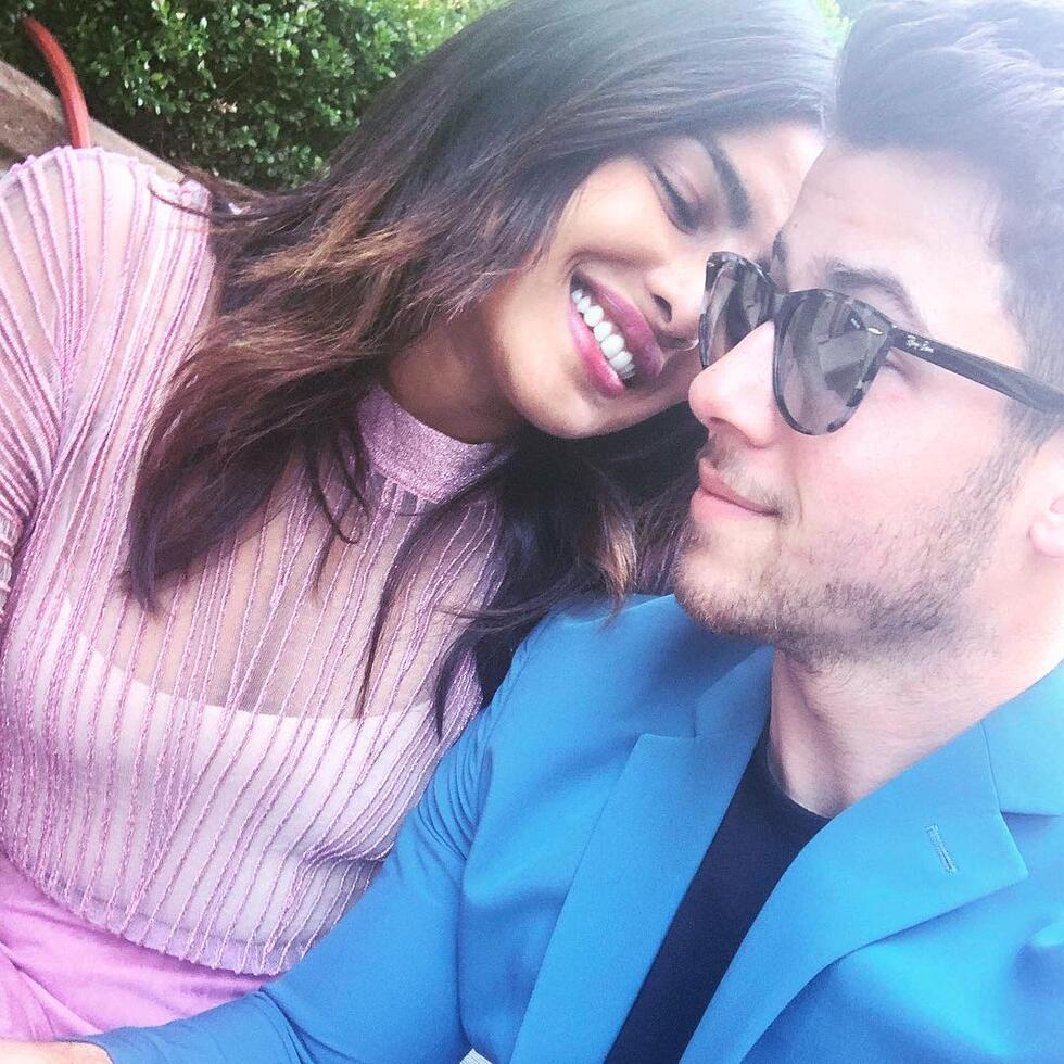 Awww, Nick Jonas Posts The Cutest Anniversary Instagram Post Of Priyanka Chopra
