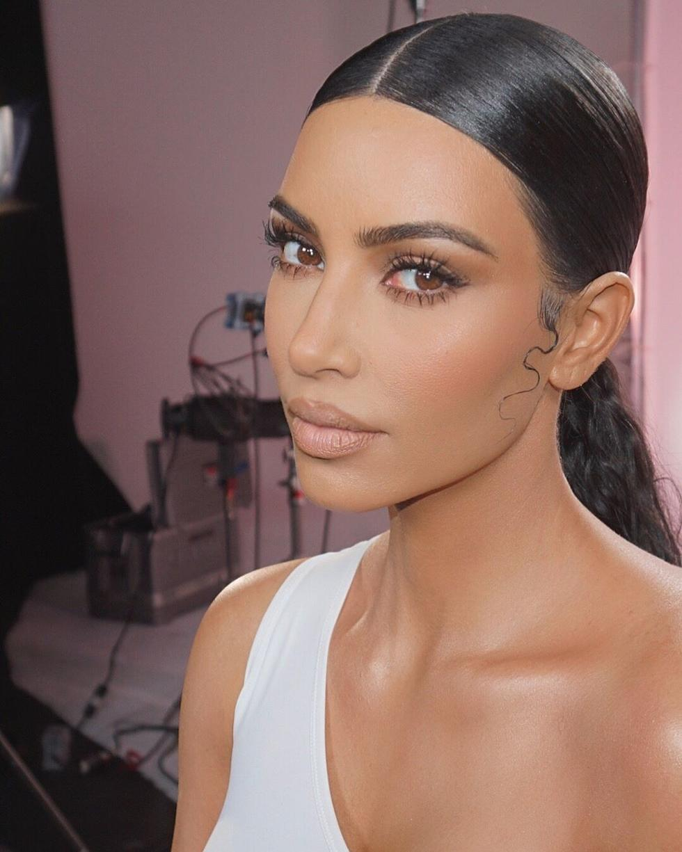 Kim Kardashian Is Teaming Up With Model Winnie Harlow For Her Next Make-up Collab