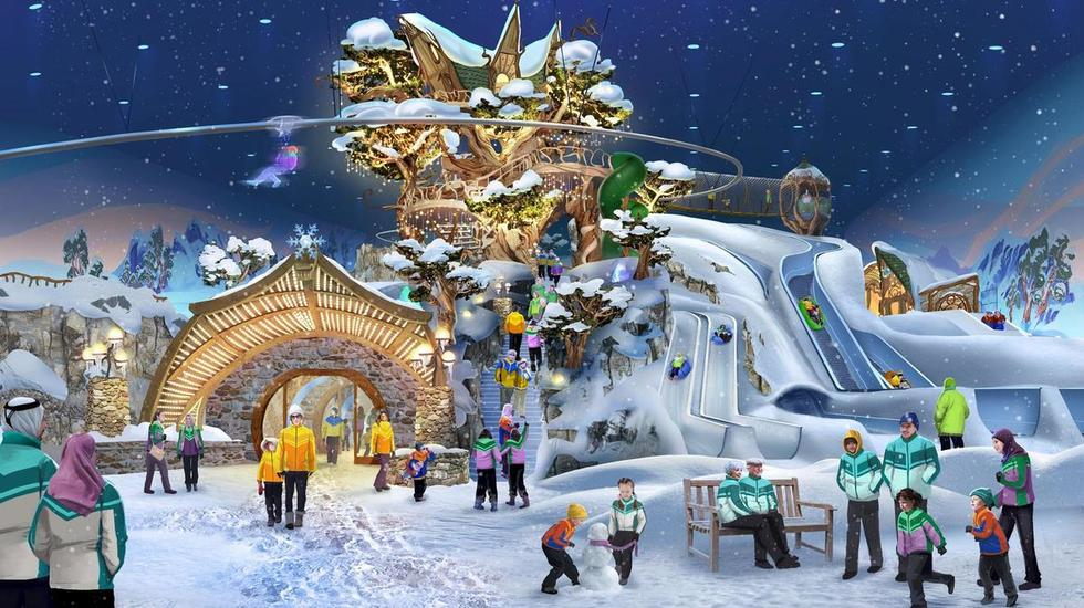 Get Excited, The World's Largest Snow Park is Opening On Reem Island In Abu Dhabi