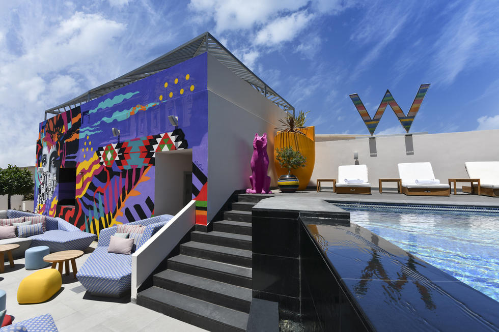 W Hotel In Amman Is A Summer Destination Hotspot