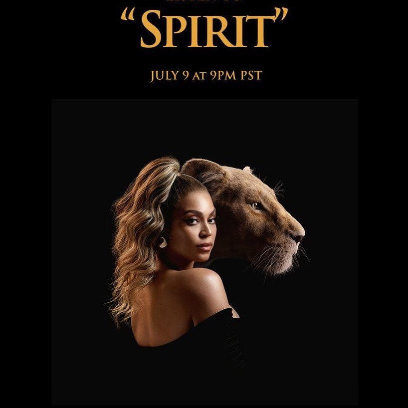 Queen Beyonce Drops A New Hit 'Spirit' For The Remake Of The Film 'The Lion King' And It's Fire!