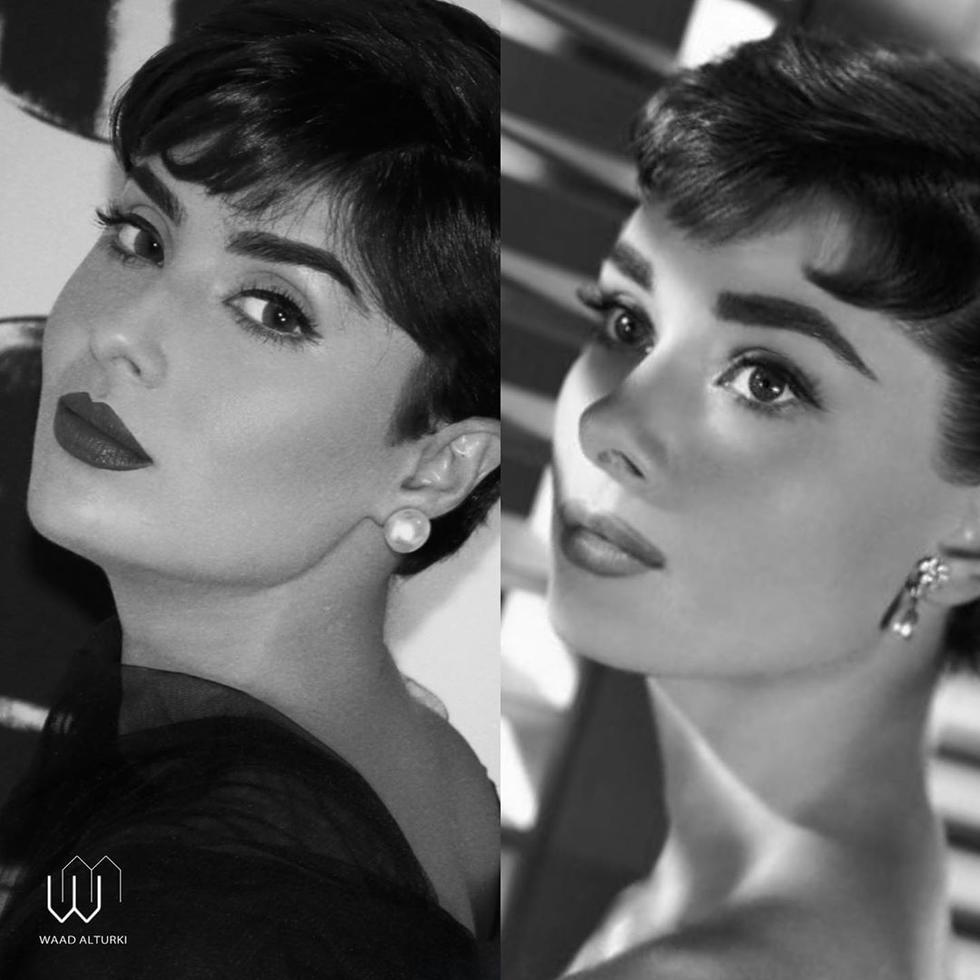 Waad Al-Turki Is Basically An Arab Audrey Hepburn