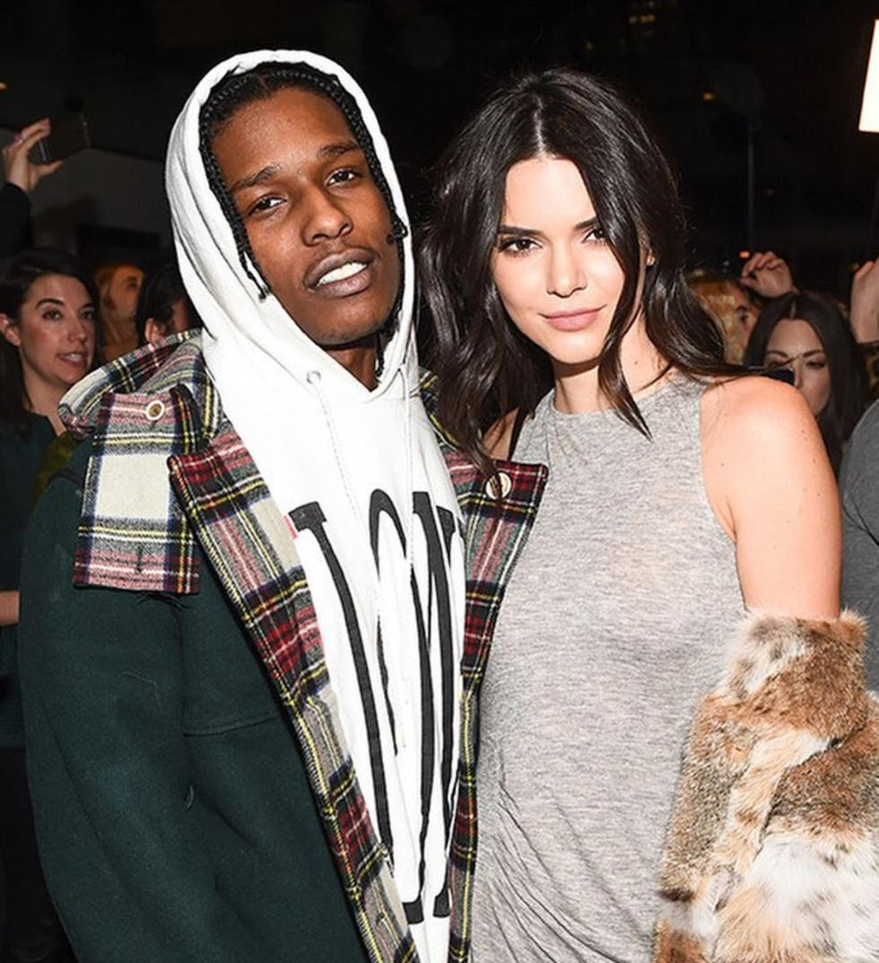 Ummm, Kendall Jenner And A$AP Rocky Were Spotted Chatting At Sunday Service