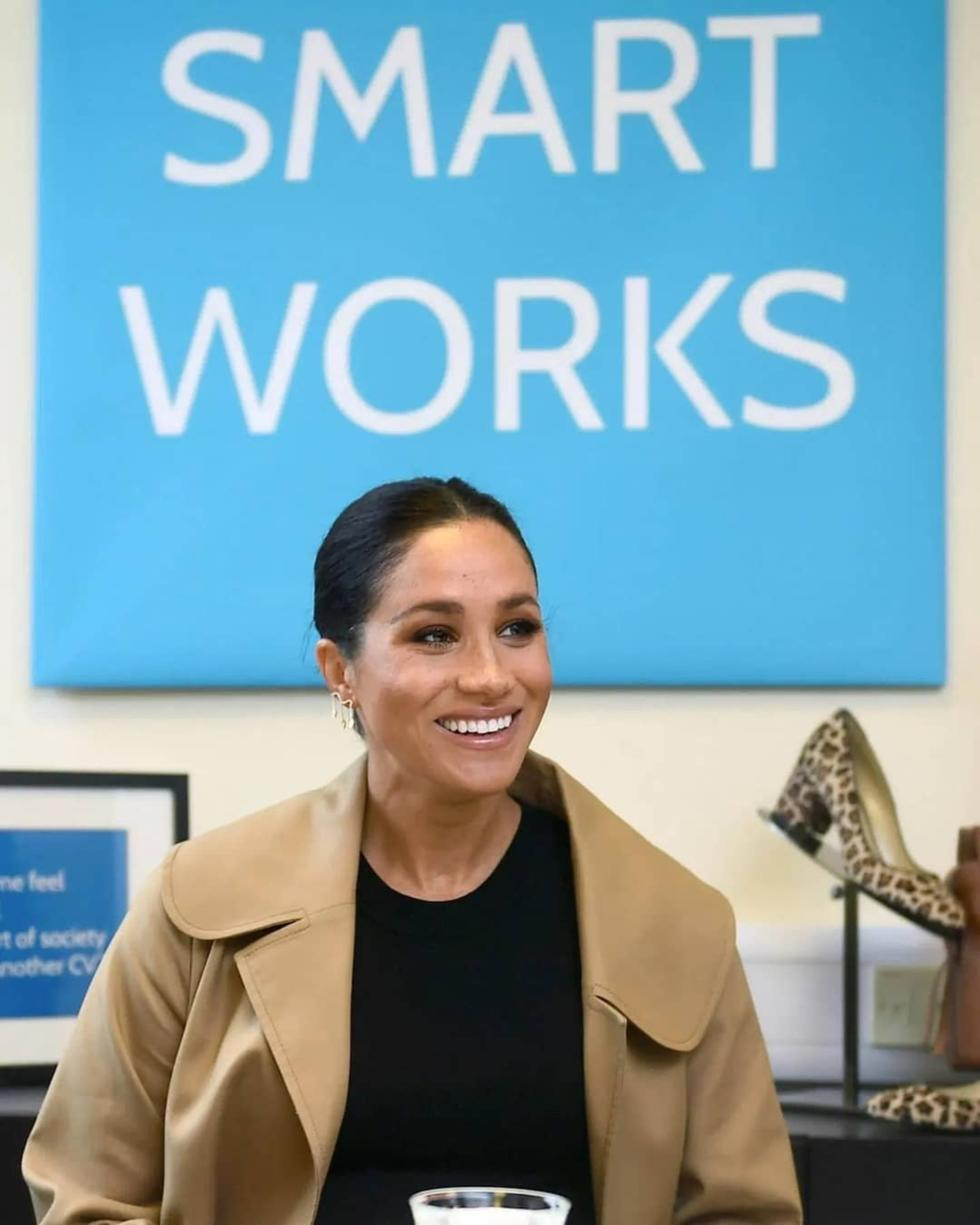 Meghan Markle Launches A 'Smart Works' Capsule Collection!