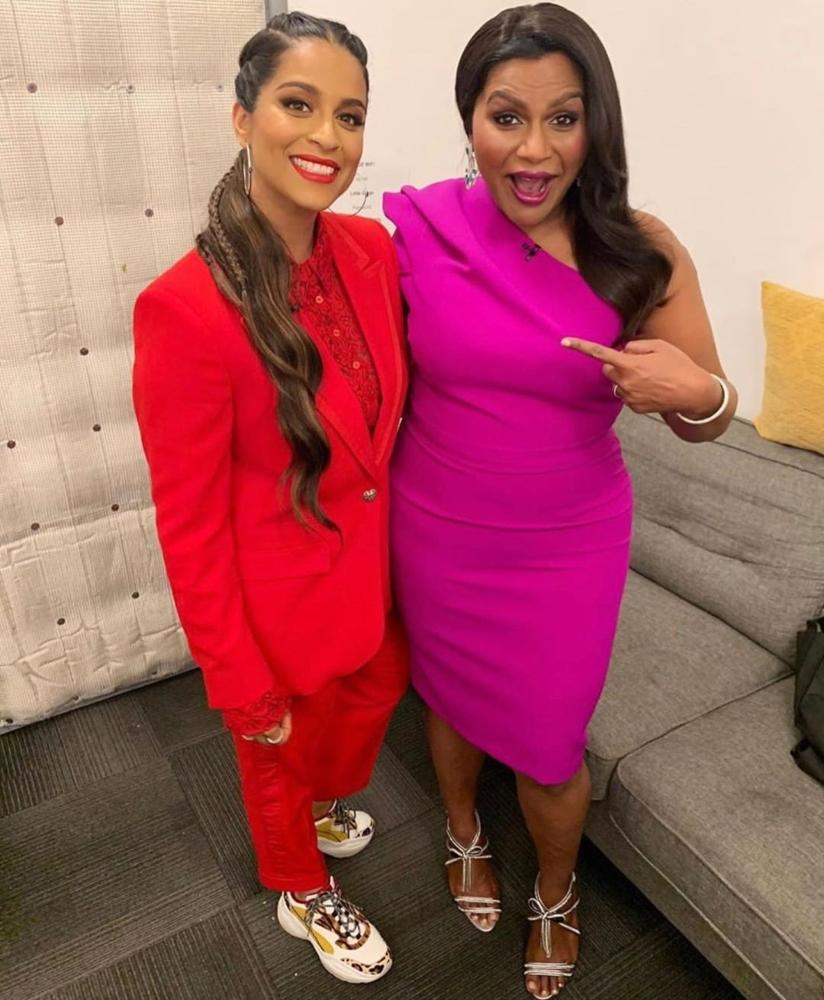 Mindy Kaling Updated 'The Office' For 2019 On 'A Little Late With Lilly Singh'
