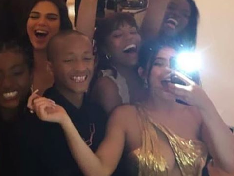 Fans Think Kylie Jenner Is Dating Jaden Smith After He's Photographed With Her In Hailey's And Justin's Wedding