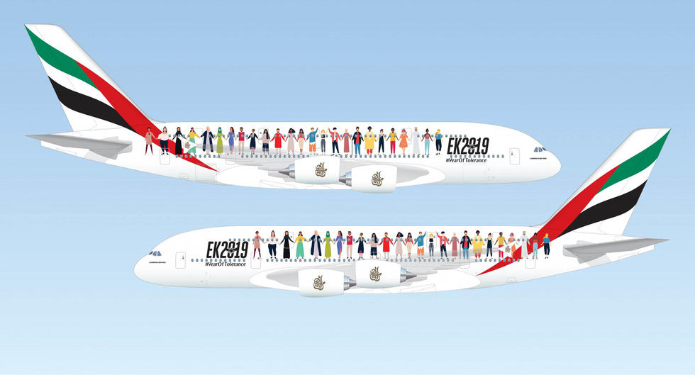 Take A Once In A Lifetime Flight Around The UAE With Emirates Airlines on EK2019