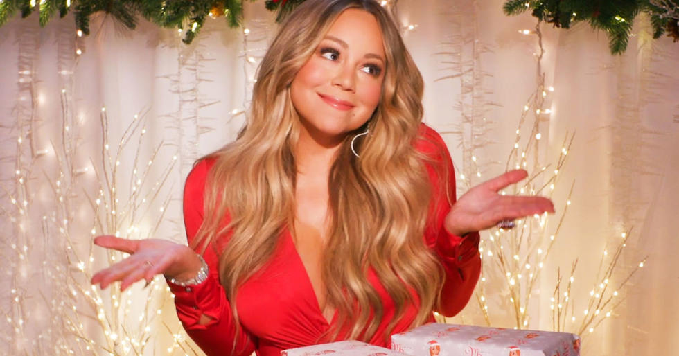 Watch Mariah Carey Literally Throw Out Cheap Christmas Decor During Our 'Expensive Taste Test'