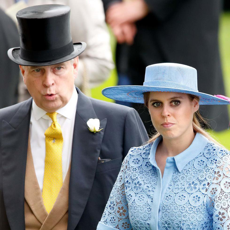 Princess Beatrice Reportedly Had to Cancel Her Engagement Party Because of Her Dad's Recent Scandal
