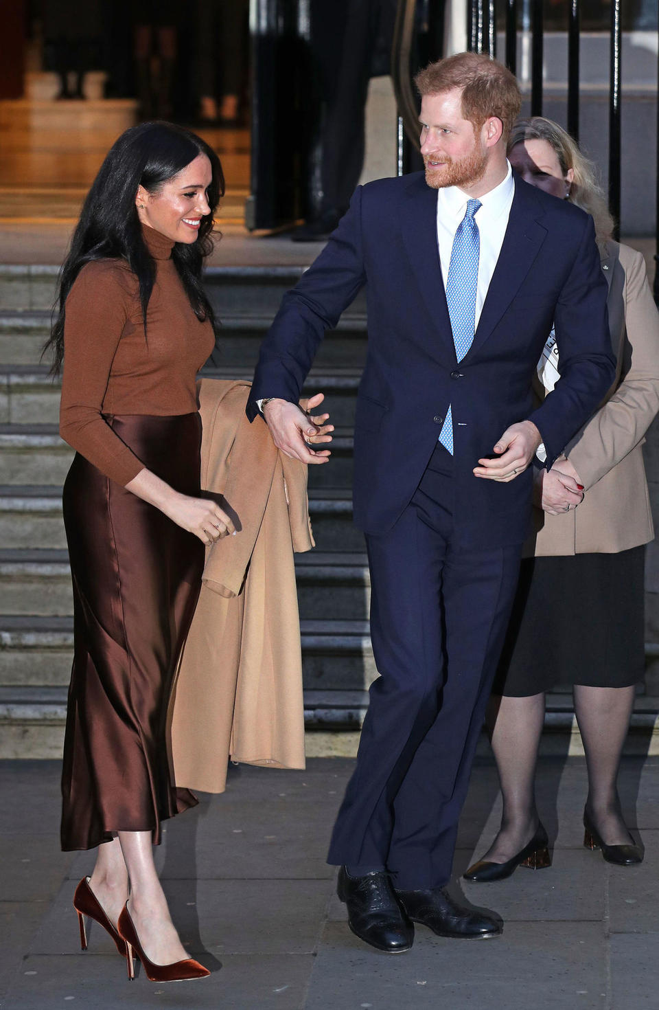 Meghan Markle and Prince Harry look super relaxed after their 6 week break