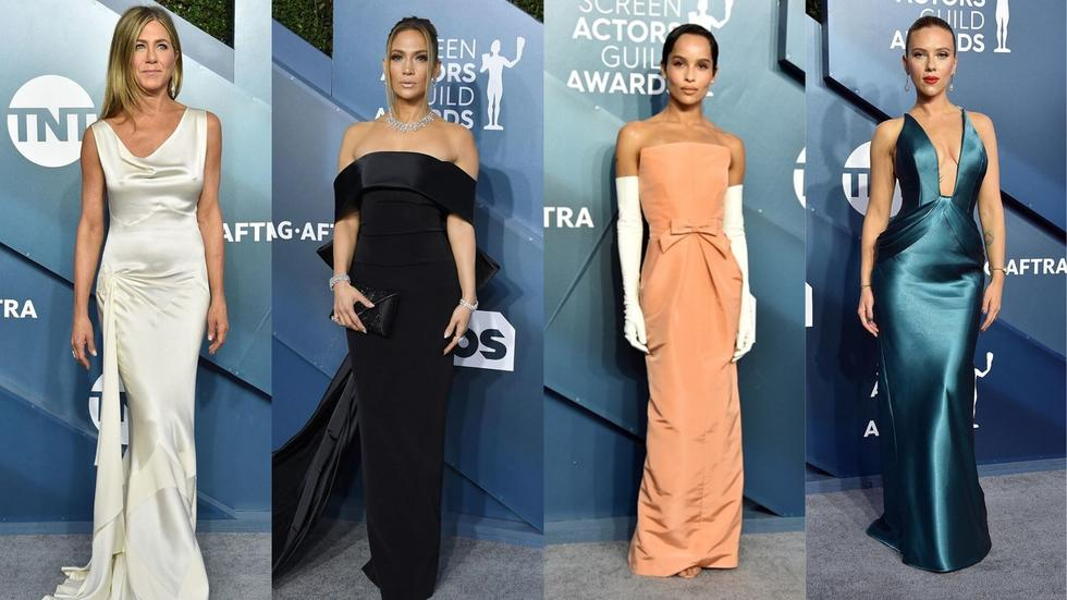 From Jennifer Aniston to Jennifer Lopez, these leading ladies brought their A-game to the Screen Actors Guild Awards