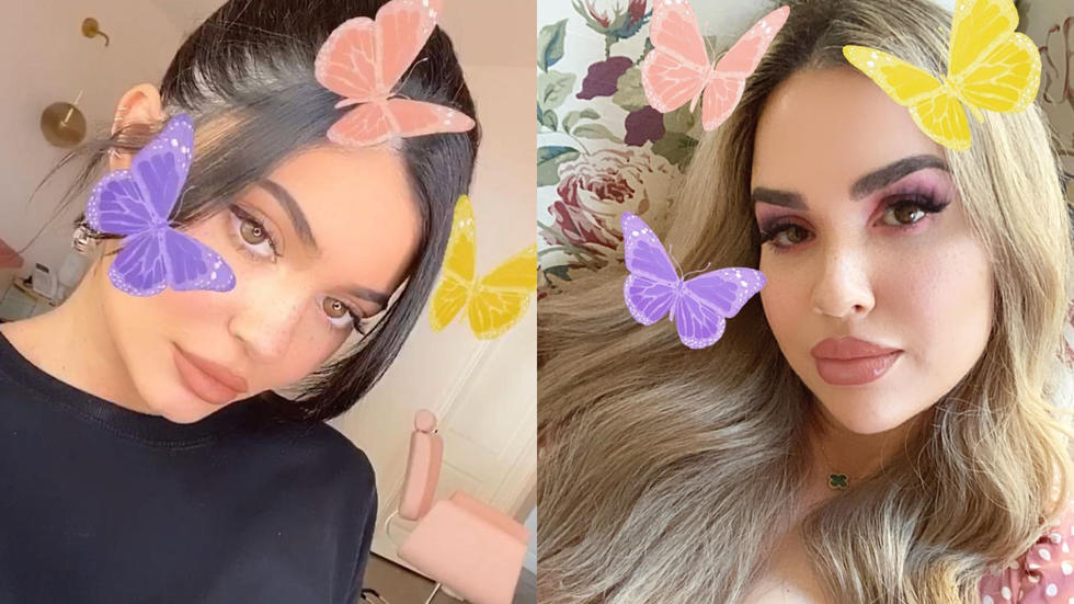 Exclusive: This Dubai influencer just made an IG filter for Kylier Jenner. No biggie