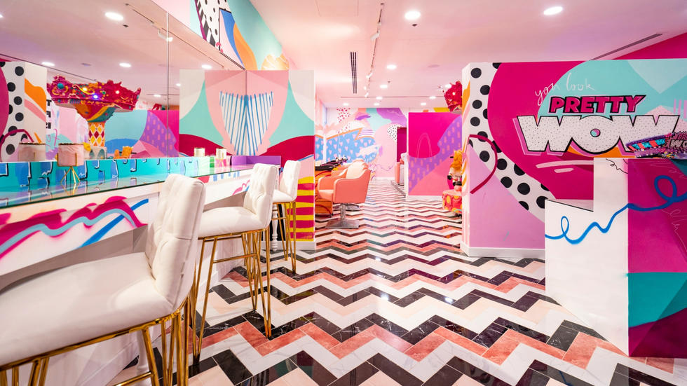 We're a sucker for an Pinterest-worthy wall or Instagrammable interiors, and Pretty WOW did not come to play. The newly opened salon, located in Cluster V of JLT, is basically a look inside our soul. Keeping clicking to see just about how pink your weekend could get...