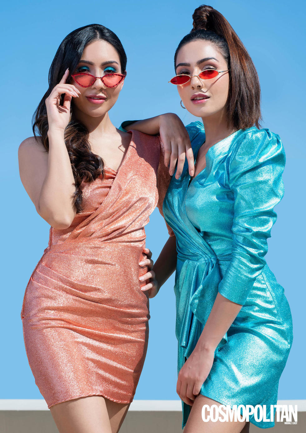 Revealed: February cover stars Rinky & Ritu Pamnani have a sisterly solidarity that's a unifying force to be reckoned with